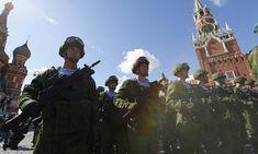 Μεγάλη πρόβα για τη μεγάλη στρατιωτική παρέλαση της «Ημέρας της Νίκης» πραγματοποιείται στη Μόσχα.Περισσότερα...