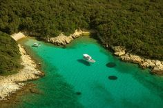 Verträumte Bucht auf Rab: Auch im Südwesten der Insel gibt es einsame...