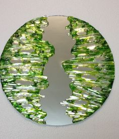 Lime Trees Mirror