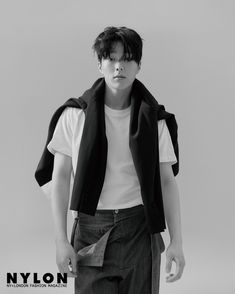 Jang Ki Yong is a total stud in 'NYLON' magazine! Korean Male Actors, Korean Celebrities, Asian Actors, Hot Korean Guys, Korean Men, Hot Guys, Korean Face, Korean Star, High Cut Korea