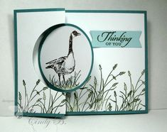 Wetlands Flip Card with Gift Card Pocket  by cindybstampin - Cards and Paper Crafts at Splitcoaststampers