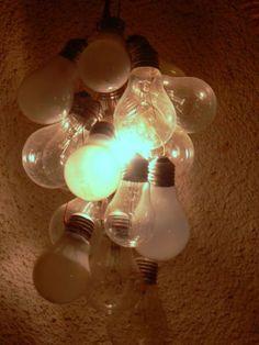 Bulb lights lamp