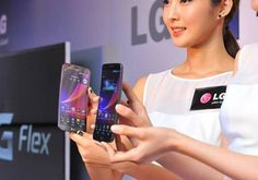 Unlike the Samsung Galaxy Round, LG's smartphone will actually be available to the general public, the ones with deep pockets.