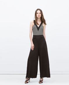 ZARA - ITS DRESS UP TIME - COMBINED JUMPSUIT