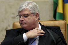 Janot não confirma pedido de prisão de Renan, Jucá, Sarney e Cunha - http://po.st/0F6NeH  #Política - #Operação-Lava-Jato, #Prisão, #Stf