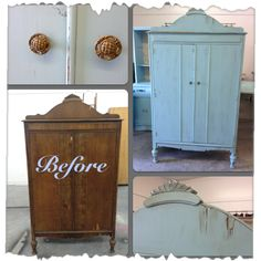Vintage Charm and Restoration  Wardrobe in Drizzle by SW