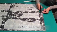 Pattern layout, pinning, marking and cutting out - Marfy pattern 3022 - (easier with audio off)