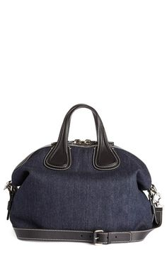 c99464ded43d Givenchy  Medium Nightingale  Denim Satchel available at  Nordstrom Cotton  Bag
