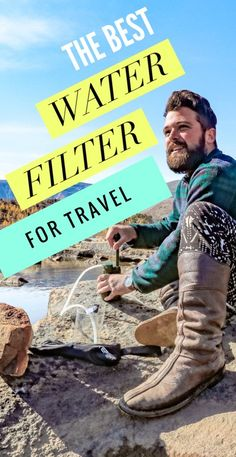 The ultimate travel tool for those looking to know how to purify water on the go, the Survivor Filter Pro makes clean water easy-to-access for all travels. Travel Advice, Travel Guides, Travel Tips, Travel Destinations, Travel Hacks, Travelling Tips, Travel Plan, Travel Articles, Travel Info