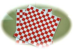 "Grahmart Packaged 50 Sheets 12x12"" Red and White Checkere... https://www.amazon.com/dp/B015YE87V0/ref=cm_sw_r_pi_dp_x_nvmOxb1N8ZMYV"