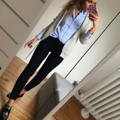 Outfits For Work – Lady Dress Designs Casual Work Attire, Business Casual Outfits, Business Attire, Office Outfits, Fall Outfits, Fashion Outfits, Business Chic, Business Professional, Office Attire