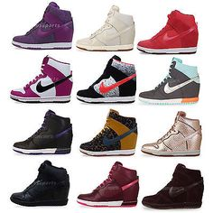 Nike Wmns Dunk Sky Hi Essential / Premium NSW Womens Wedges Casual Shoes Pick 1  Check more at: http://www.ebay.com.au/cln/acrossports/Check-the-Wedges/176109098016
