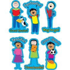 Fantastic Stick Kids Stickers - CTP1257