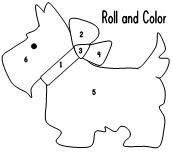 Собачка рисунок, аппликация