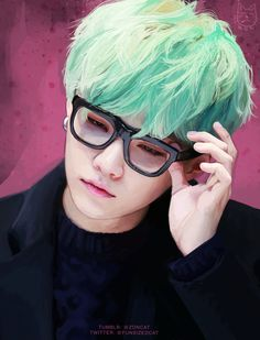 BTS Suga Fanart | This is so AWESOME. The swag is strong too XD