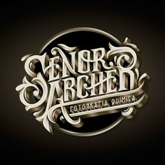 Señor Arche, nice lettering work from Javi Bueno.
