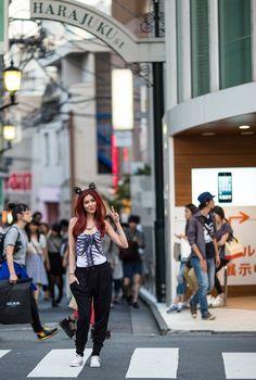 https://flic.kr/p/vPoXJX | Harajuku Street