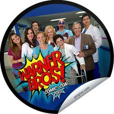 Roxy Terra's Childrens Hospital at Comic-Con 2013 Sticker | GetGlue