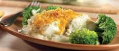 Broccoli Fish Bake