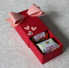 Ferrero-Küsschen-Verpackung Stampin Up