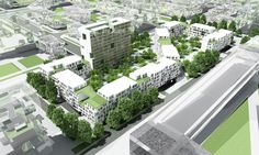 Gallery of Mehrshahr Residential Complex Proposal / ContemporARchitectURban Designers Group - 23