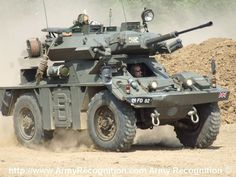Army - FV721 Scout Car Reconnaissance Ferret. Fox derivative 30mm Rarden Turret fitted