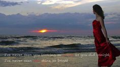 Chris De Burgh - Lady in Red (Lyrics on screen)