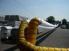Schlauchtest für mobile Zeltklimatisierung