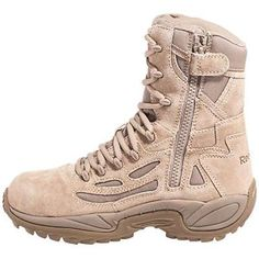 Reebok Military Boots Side Zipper Soft Toe RB8895. The greatest footwear in the universe.