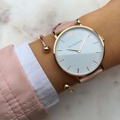 Add beauty to your Sunday with some rose gold & our Marina Rose. - Ekin Eldener - - Add beauty to your Sunday with some rose gold & our Marina Rose. Cute Watches, Elegant Watches, Stylish Watches, Beautiful Watches, Luxury Watches, Watches For Men, Woman Watches, Cheap Watches, Sea Glass Jewelry