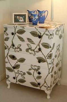 Flora chest of drawers