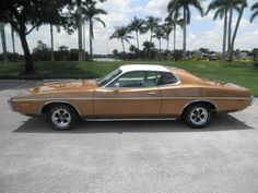 1973 Dodge Charger Gold