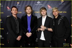 Ashton Irwin, Luke Hemmings, Michael Clifford and Calum Hood of 5 Seconds of Summer attend the 2019 G'Day USA Gala at on January 2019 in Culver City, California. Consigue fotografías de noticias de alta resolución y gran calidad en Getty Images Ashton Irwin, Calum Hood, Michael Clifford, Luke Hemmings, 5 Seconds Of Summer, 5sos Drawing, Ship Names, Out Of My Mind, Instagram Images