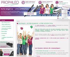 Prophileo : objets publicitaires dans le Finistère