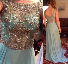 me Beading Red Chiffon A-Line Long Prom Dress Sexy Open Back Elegant Evening Gown,prom dresses blue,beaded homecoming dresses,backless evening dresses Graduation Dresses Long, Prom Dresses 2016, Prom Dresses With Sleeves, Prom Dresses Online, Prom Dresses Blue, Pretty Dresses, Beautiful Dresses, Evening Dresses, Formal Dresses