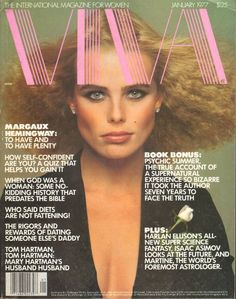 Viva magazine, January 1977 — Margaux Hemingway