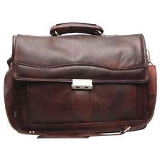 Comfort 15 inch Pure Leather Laptop Bag for men and women EL07