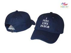 b609ede54ea I Feel Like Pablo Kanye Snapback Mlb Baseball Caps
