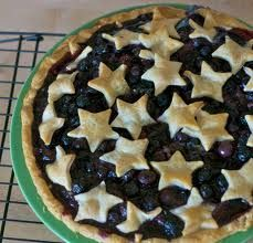 Ultimate fourth of July pie