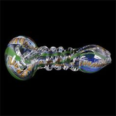 Smoked Out Pipes | Online Head Shop - Slick Hand Blown Glass Hand Pipe Ribcage Lattachino, $29.99 (http://www.smokedoutpipes.com/slick-hand-blown-glass-hand-pipe-ribcage-lattachino/)