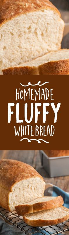 You just can't beat this classic white bread recipe - perfect for sandwiches, toast, and French toast. {video}
