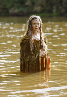 Sophia. but i am actually so obsessed with her cloak and shes just getting it wet!!!!