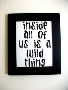 A Where the Wild Things Are kid's room?  So cute.