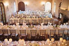 Tables inside Mansion at Powel Crosley Estates Sarasota Florida