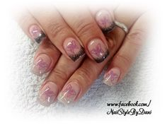 Thermo-Gel - www.facebook.com/NailStyleByDani #naildesign #nailart #frenchnails #gel #manicure #maniküre