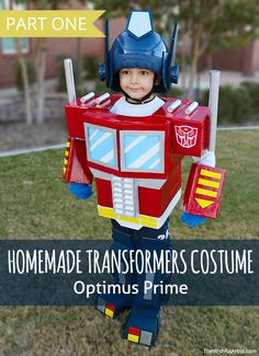 Homemade Costume Tutorial: Transformers Optimus Prime