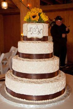 sunflower wedding cake | wedding wedding planning wedding cake , 1157306 00181 680x1024