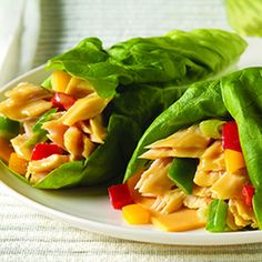 ... WRAPS on Pinterest | Lettuce wraps, Chicken lettuce wraps and Tuna