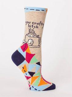 Lovin Grandma Life Humorous Quote Socks Unisex One Size Primitives by Kathy