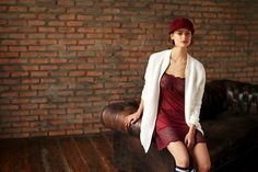 Rosapois FW 15-16 #lingerie #corsetry #sporty #bordeaux #burgundy #gorgeous #precious #sophisticated  #babydoll #foreveryoung #loungewear pic by #benedusi